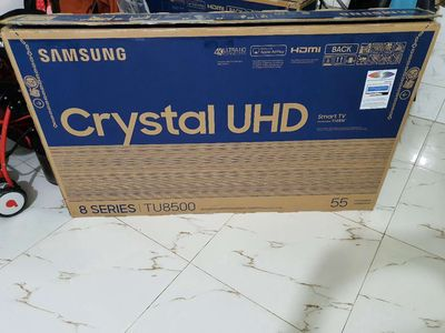 Smart Tivi Samsung 4K 55 inch UA55TU8500 New 99.9%