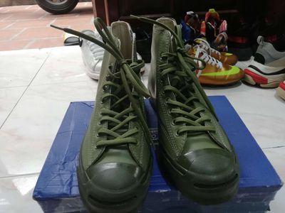 Giày Converse Jack Purcell,màu xanh lính,size 40.5