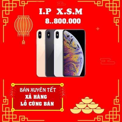 IPHONE XS MAX LOCK 64GB ĐỦ MÀU / CÓ TRẢ GÓP 18T