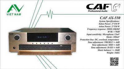 Âm ly CAF 550W 1 kênh