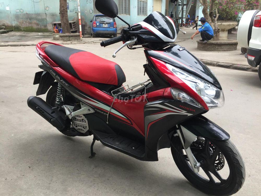 0352602254 - Honda Air Blade đầu to đỏ đen sport 2013