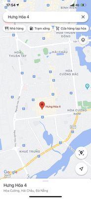 75m2 đất đường Hưng Hoá 4 - Hoà Cường Nam
