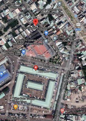 Đất Huyện Hóc Môn 126m² gần chợ đầu mối hóc môn,
