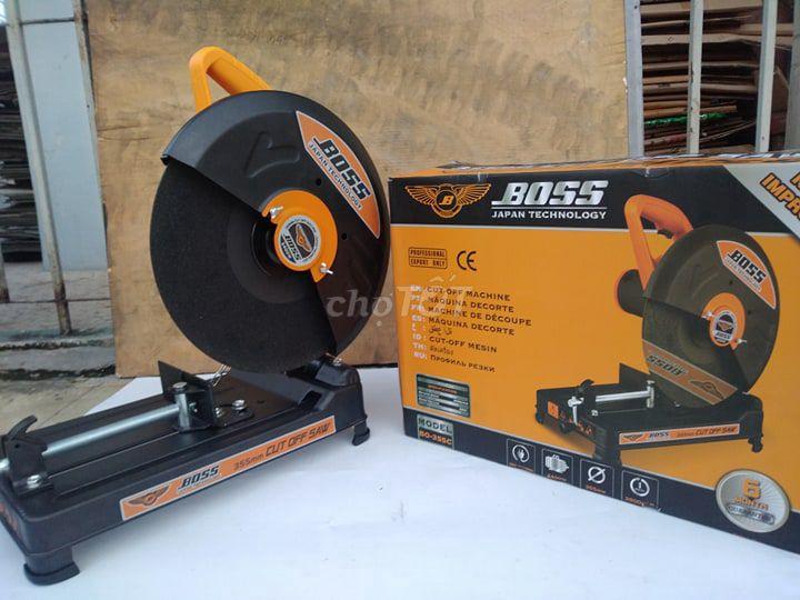 Máy cắt sắt boss 2400w chính hãng  tặng đĩa cắt