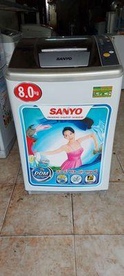 Thanh lý máy giặt Sanyo 8kg.