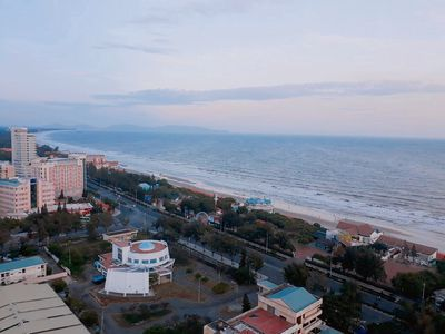 Bán căn góc CC 165A Thùy Vân, 77m2, mặt tiền biển