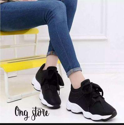 Dép Sneaker nữ size eu:38, y như hình
