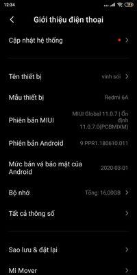 Xiaomi Mi 6 Đen