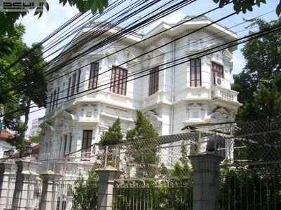 Bán biệt thự mặt phố Nguyễn Bỉnh Khiêm 280m2