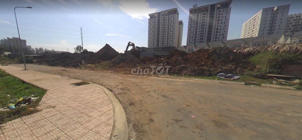 đất MT liên phường 80m2 sổ riêng dân cư đông