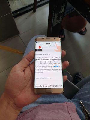 Samsung Galaxy s7 Edge cong 128G.pin 3600 bể lưng