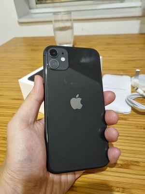 Lên đời bán iPhone 11 black 128GB likenew, hộp, c