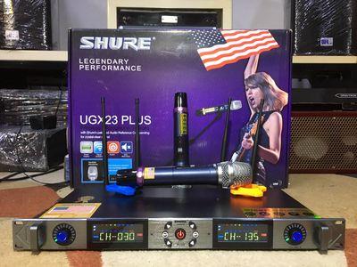 micro shure UGX 23 Plus