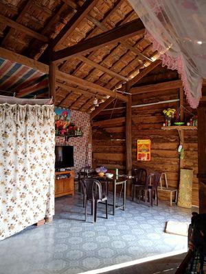 Bán 2 gian nhà ,gỗ tốt cứng cáp ở T 13A, Đak Lak