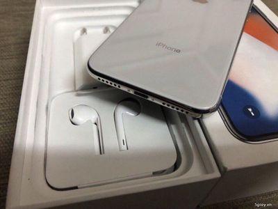 iphone X Bạc 64G thegioididong VN/A còn BH 6 tháng