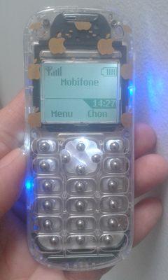 <Hàng Độc> 1280 Nokia Có Đèn Phím Bi 6300%Zin9hãng