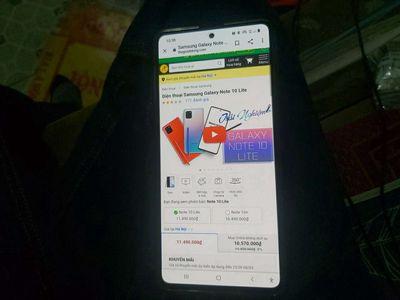 Samsung Galaxy Note 10 lite Đen 128 GB