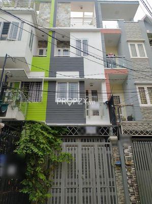 Nhà HXH Phan Đăng Lưu, 4.5 tấm, thông Nguyễn Kiệm