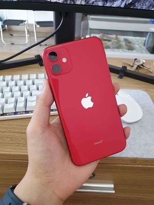 iPhone 11 Đỏ 64G Quốc tế