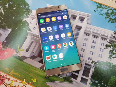 Samsung Note 5 Vàng Màn hình 5.7 inch