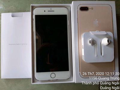 Apple iPhone 7 plus Vàng 128 GB