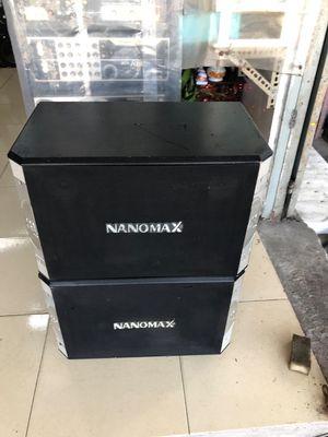 Loa nanomax bass 25 rat hay hoạt động tốt