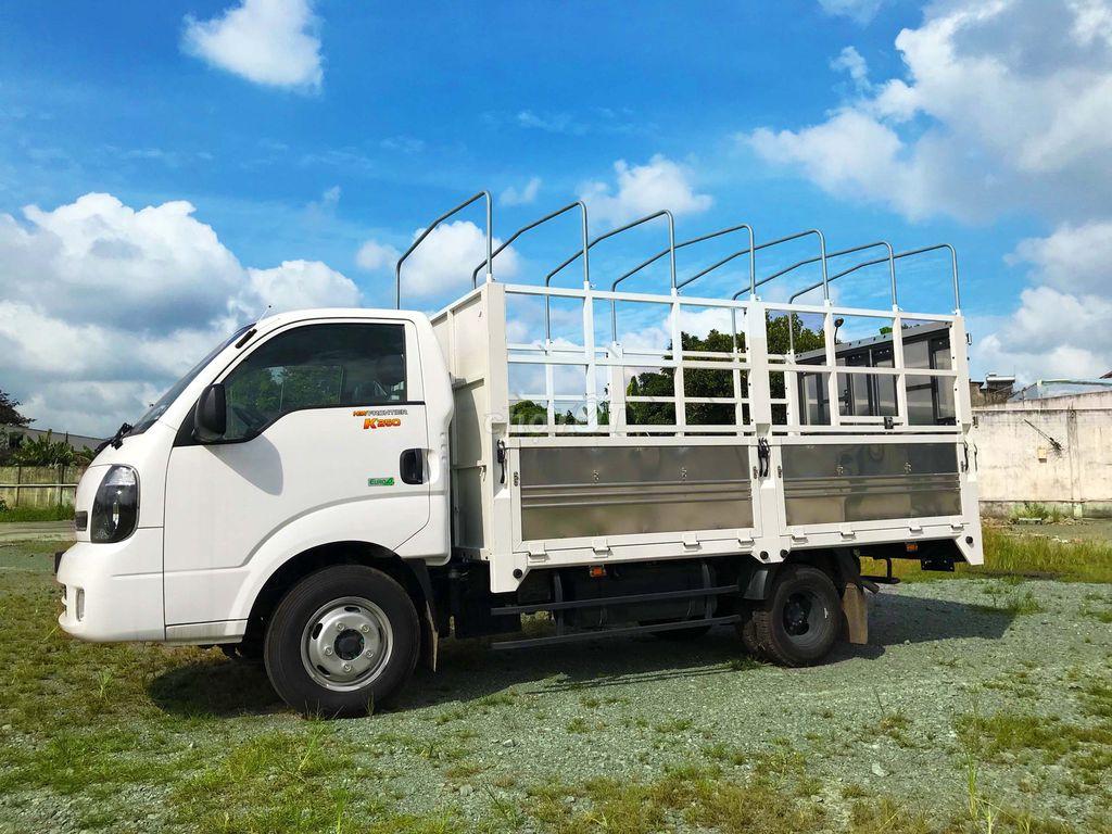 xe tải K250 mui bạc - đáp ứng mọi nhu cầu