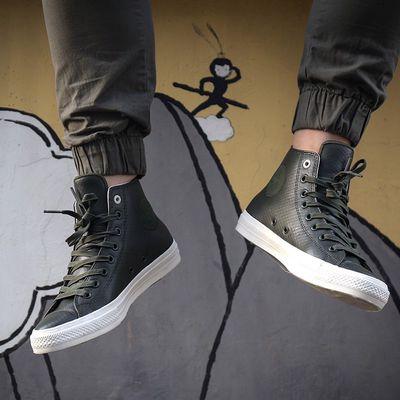 Giày converse chuck 2 bản da chính hãng Size 41.5