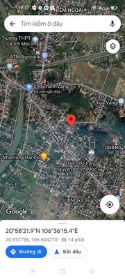 Lô đất tại trung tâm thị trấn Quảng Thanh