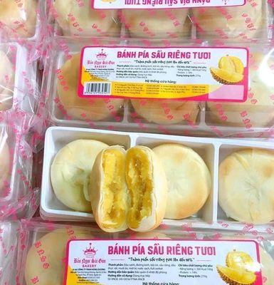 Bánh Pía Sầu Riêng 1 Hộp 6 chiếc siêu sầu