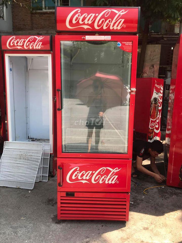 Tủ mát Coca 700L mới 95%