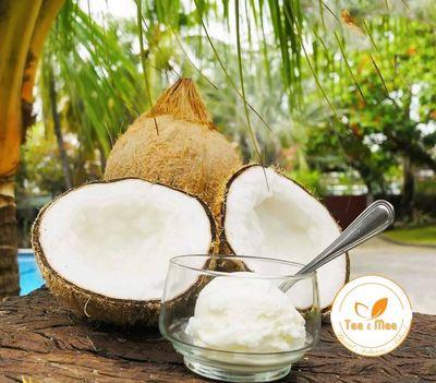 Dừa Sáp Trà Vinh - Cơm Siêu Dày, Bao Sáp 100%