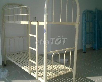 Giường hai tầng tháo lắp, sản xuất tại xưởng. NEW
