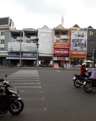 Nhà 1 trệt 3 lầu 492,49m2 Ngã 4, Đồng Xoài, BP