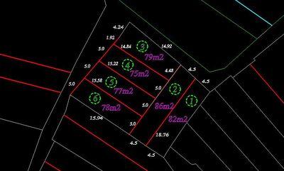 Đất nền sổ riêng 123m2 Thị Trấn Gia Bình