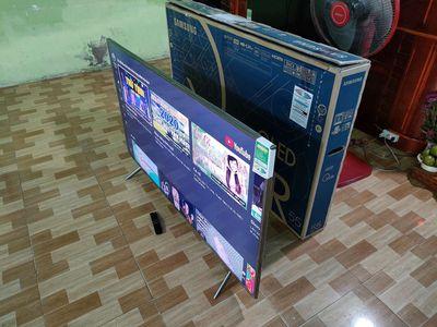 """Thanh lý Smart Tivi QLED 55"""" BH Chính Hãng 2 Năm"""