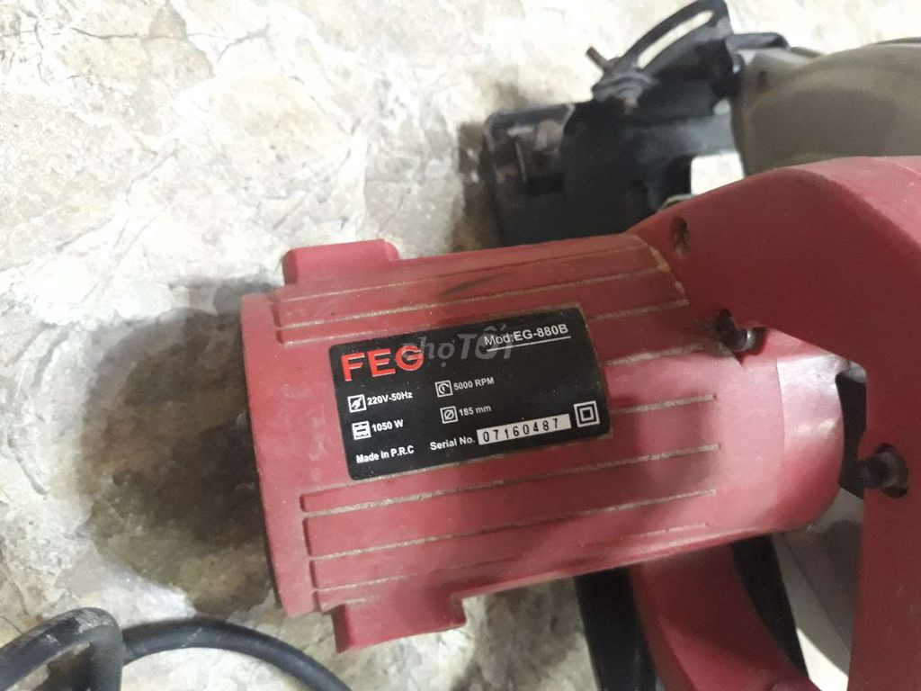 0913512138 - Thanh lý máy cắt gỗ hiệu FEG 880B, mới sử dụng vài