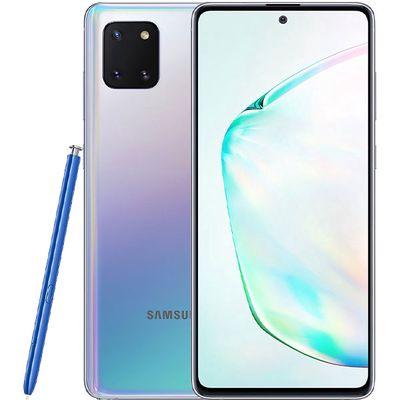 Samsung galaxy note 10 lite fullbox mà bạc đa sắc