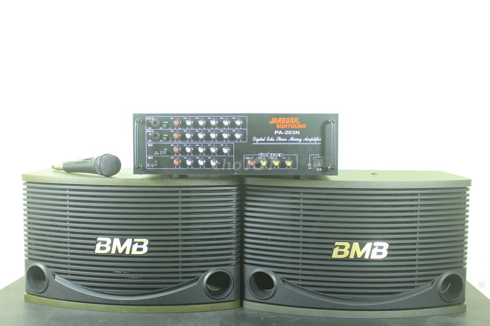 dàn âm thanh bmb 455 , jagua 203n đủ dây nhợ míc