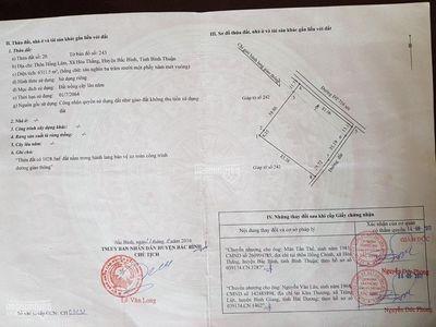 bán gấp 2 lô đất - hòa thắng- bắc bình, bình Thuận