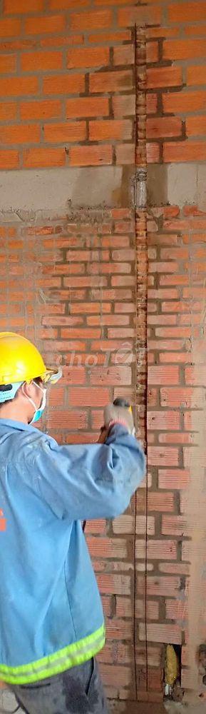 chuyên cắt đục điện nước âm tường