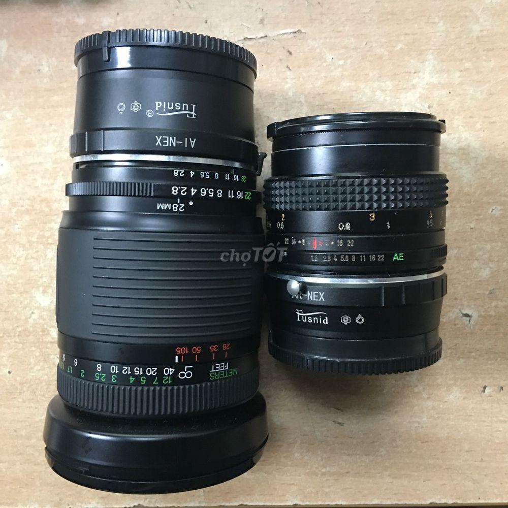 2 lens MF ngàm Sony E-mount