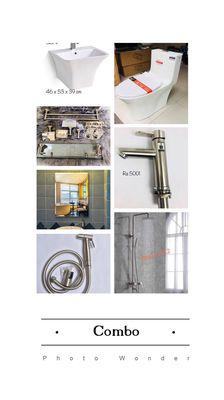 Combo trọn bộ thiết bị vệ sinh cao cấp
