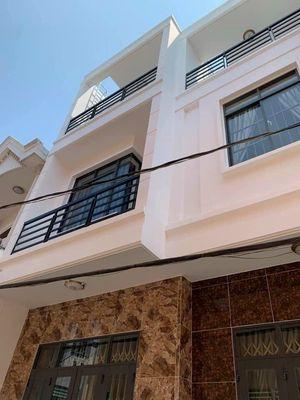 Nhà mới 1 trệt 2 lầu hẻm/ đường Trương Công Định