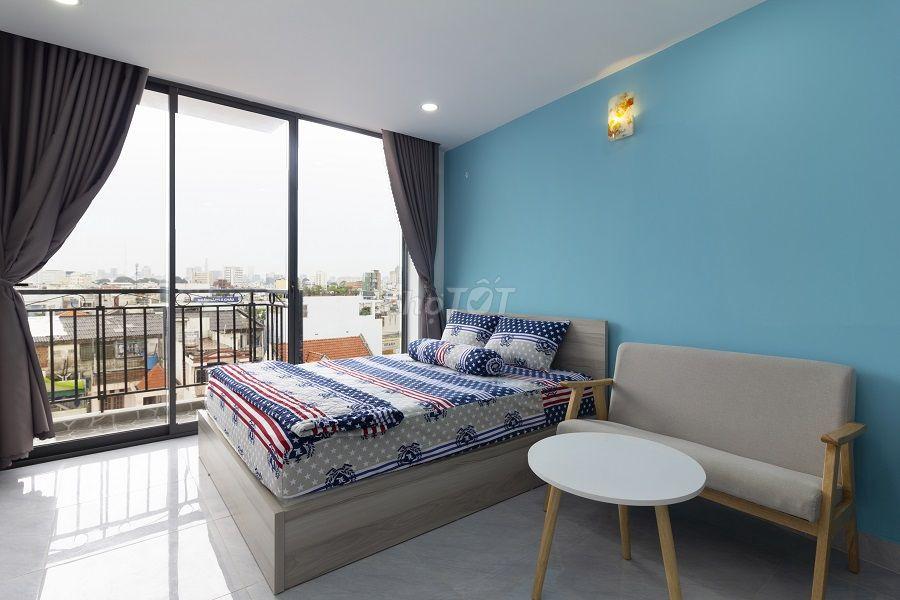 Phòng 30m2+ Balcony đường Nguyễn Văn Đậu, BT