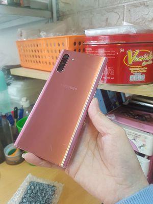 Galaxy Note10-5G màu Vàng Hàn ram 12/256gb