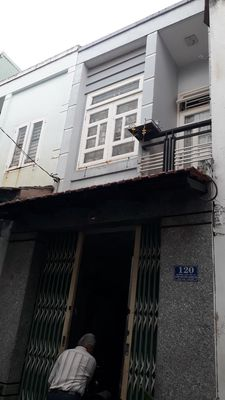 Nhà 1 trệt 1 lầu đúc thật ở Bình Tân, sát Tân Phú