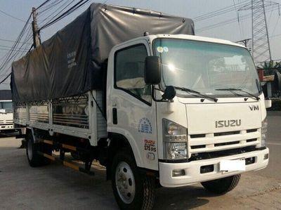 Xe ISUZU 8T2 thùng dài 7m, 100tr nhận xe
