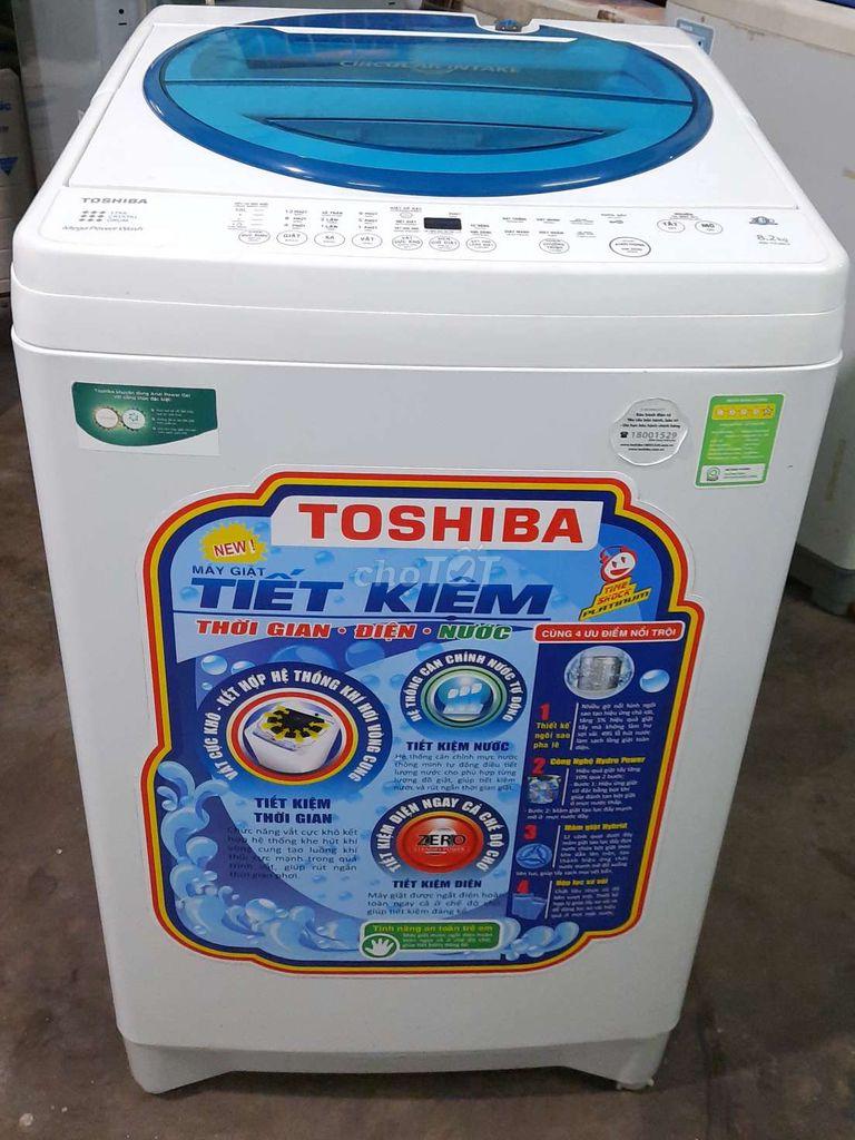 0378808186 - 💥MÁY GIẶT TOSHIBA 8.2KG! Đẹp lung ling