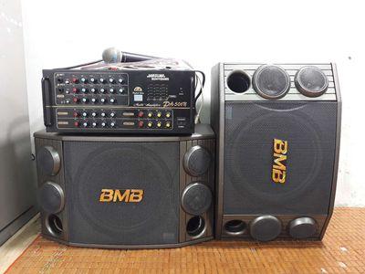 Bộ dàn loa bãi BMB 2000(C) âm li 506N hàn quốc